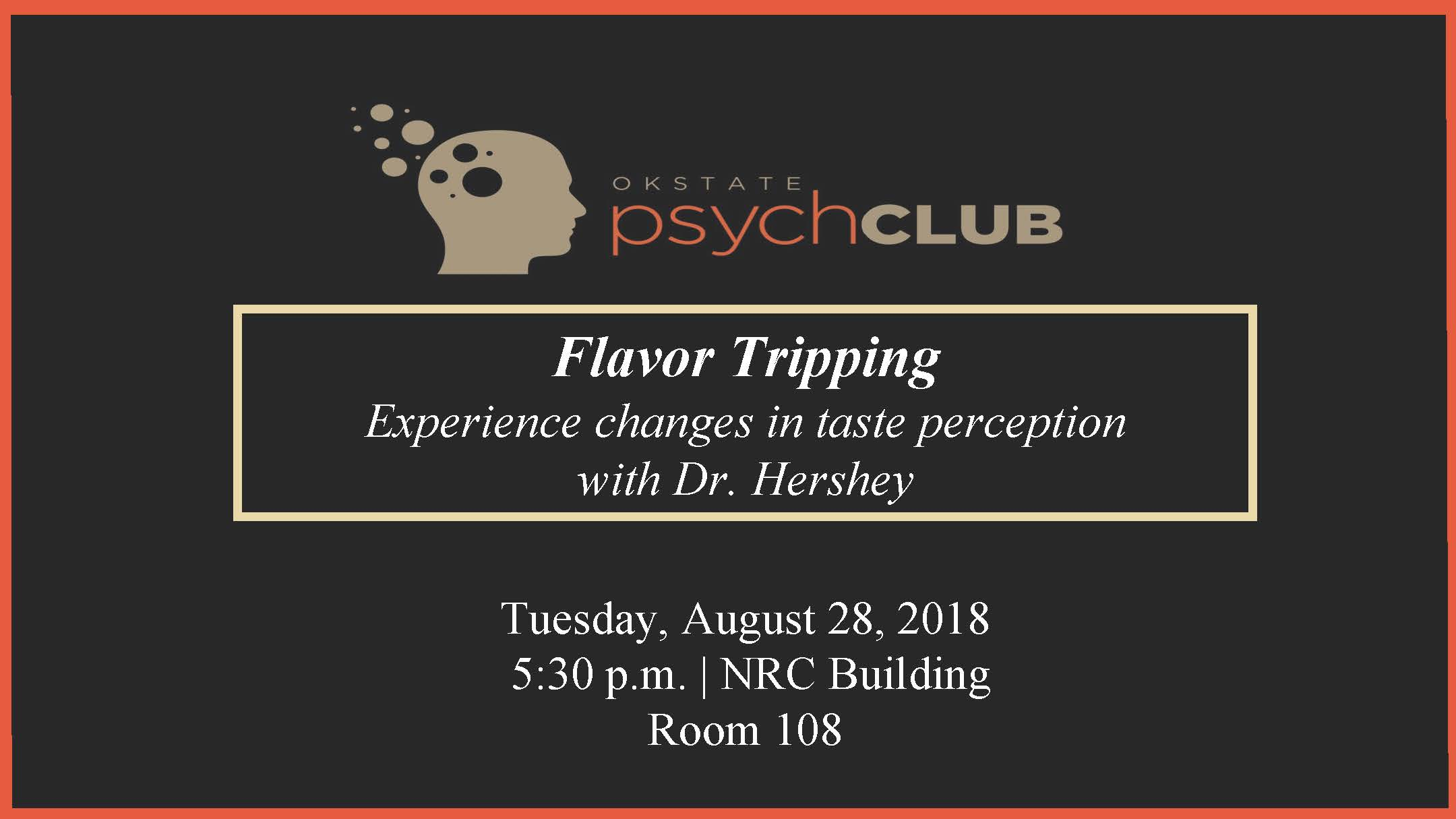 August 28 2018 Psych Club meeting